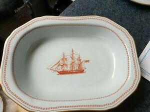 Spode Trade Winds Red