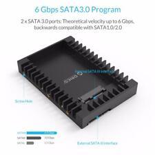 2.5'' SSD to 3.5'' SATA HDD Caddy Bay Adapter Hard Drive Tray Converter Case