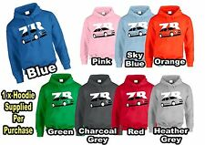 MG ZR Inspired MENS / WOMENS Hoodie Gift For Mum, Dad ETC