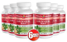 Increase Appetite Capsules - Goldenseal Root 520mg - Hydrastis Canadensis 6B