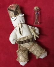 Doll Voodoo Man + Pins + Box  - Muñeco Vudu - Fetiche - Santeria