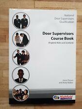 Door Supervisors Course Book 3 Modules By Andy Walker, Jason Dyson - Highfield