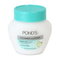 Pond's Cold Cream - Cucumber - 6.5 oz (3 PACK) + Makeup Sponge