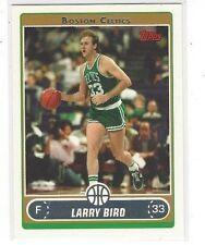 2006-07 TOPPS BASKETBALL LARRY BIRD VARIATION SOLO DRIBBLING #33 - CELTICS