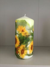 Handmade Paraffin Wax Floral & Garden Candles & Tea Lights