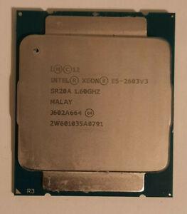 Intel Xeon E5 2603v3 1.6GHZ Six Core LGA2011 CPU Processor