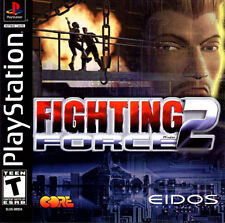 Fighting Force 2 PS1 Great Condition Complete Fast Shipping