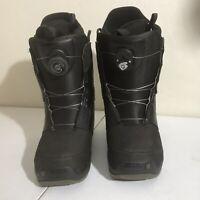 BURTON Men's Progression Boa Snowboarding Boots – Mens Sz 7 Black