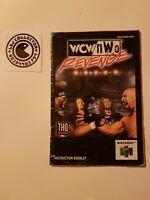 WCW vs NWO revenge - notice nintendo 64 - UKV