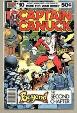 Captain Canuck #10-1980 vg George Freeman Richard Comely