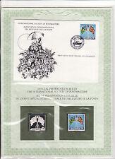 enveloppe timbre neuf et argent association receveurs de la poste iles Salomon