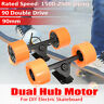 90mm Brushless Dual 6364 Hub Motor Drive Part For Electric Longboard Skateboard