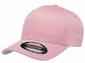 FLEXFIT Classic ORIGINAL 6-Panel Fitted Baseball Cap HAT S/M & L/XL All Colors!