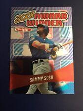 2002 Topps Total #AWS1 SAMMY SOSA Award Winners Chicago Cubs