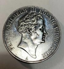 1840 A German States Friedrich Wilhelm III Prussia 2 Thaler Silver Crown