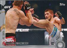 #152 KHABIB NURMAGOMEDOV 2015 Topps UFC Chronicles SILVER PARALLEL