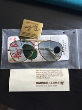 RAY BAN BAUSCH LOMB SHOOTER 58mm ULTRA GRADIENT GRAY LENSES NEW OLD SUNGLASSES