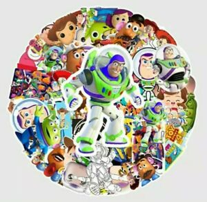TOY STORY SET OF 50 STICKERS WITH BUZZ WOODY AND FRIENDS