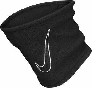 Nike Fleece Scarf Black Face Nose Covering Snood Gaiter Neck Warmer Adult Unisex