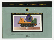 Weeda Canada Thematic Collection #68, 1995 Farm Vehicles folder CV $7.50