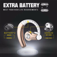 Stereo Wireless 4.1 Bluetooth Handsfree Headset Earphone for iPhone Samsung LG