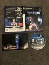 PlayStation 2 Game - Project Zero (Superb Condition) PS2 UK PAL