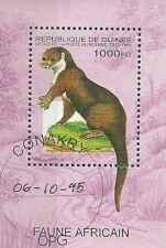 Timbre Animaux Guinée BF110C o lot 7961