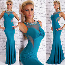 Unbranded Polyester Boat Neck Maxi Dresses for Women