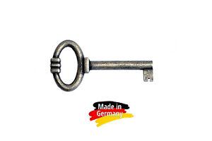 """1 Stk. Möbelschlüssel  """"Altmessing""""   64 mm - Nr. 028"""