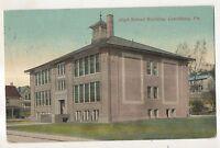 High School of LEECHBURG PA Armstrong County Vintage 1912 Pennsylvania Postcard