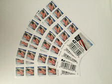 100 US Flag Forever USPS Postage Stamps First Class Mail 5 x Sheet of 20, sealed