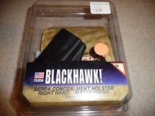 BLACKHAWK! SERPA Concealment Holster-GLOCK 38 R/H Matte Finish 38-NEW