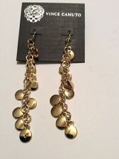 VINCE CAMUTO Gold Tone Tribal Core Earrings $28 #127