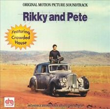 Rikky and Pete Soundtrack CD Crowded House Neil Finn Schnell Fenster (VG)