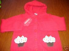 NWT Gymboree Cupcake Cutie sweater cupcakes cardigan 9