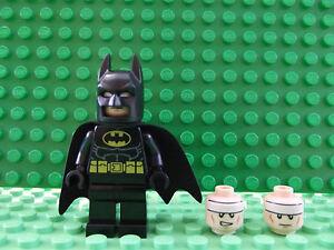 Brand New LEGO Batman Bat Man Mini Figure Superhero Marvel Avengers Double Sided