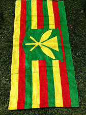 "New Hawaii LARGE Beach Pool Bath Towel 70"" x 44"" ~ HAWAIIAN MONARCHY KANAKA FLAG"