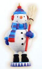 2009 HALLMARK - JOLLY SNOWMAN - 2ND IN THE NOEL NUTCRACKERS SERIES --MINT IN BOX