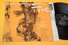 ALEX CAMPOBELL LP SINGS FOLK 1°ST ORIG UK 1964