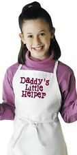Children's Cooking Apron Daddy's Little Helper Kids Novelty Aprons by CoolAprons