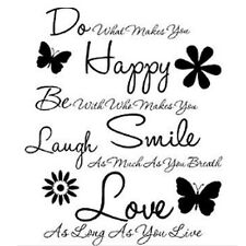 Do What Makes You Happy Vinyl Wall Decal