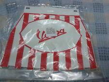 VESPA mudflap raya roja y blanca, tipo de goma dura..!!! nuevo!!!