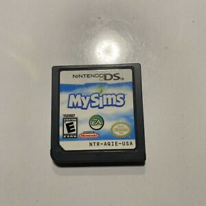 MySims (Nintendo DS, 2007) Video Game Cartridge Tested Works With Free Shipping