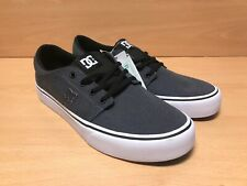 DC Shoes Men's Trase TX SE Low Top Trainers Sneaker Shoes Black Grey White UK 8
