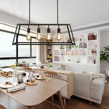 4-Lights Industrial Kitchen Island Light Pendant Chandelier Ceiling Fixtures US