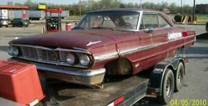 1964 FORD GALAXIE XL 500 HEADLIGHT BULB PROJECT MORE PARTS