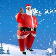 Santa Father Air Suits Inflatable Christmas Fancy Dress Costume Air Blimp Suit