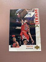 1994/95 Upper Deck Basketball All NBA Team: Scottie Pippen