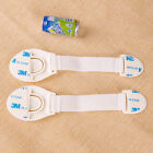2X Child Baby Safety Cabinet Door Fridge Drawer Cupboard Catch Lock Latch Cute