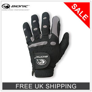 *BIONIC ALL WEATHER GOLF GLOVE - R+L HANDED - GREAT FOR ARTHRITIS - GREAT GRIP!*
